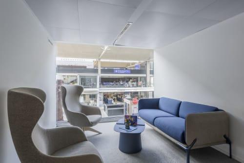 Couches & Sofas by Désormeaux / Carrette seen at STATION F, Paris - Cast