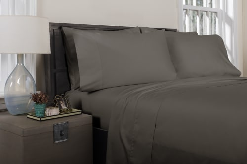 Linens & Bedding by ELEGANT STRAND seen at Private Residence, Boca Raton - Florence Solid Sheet Set