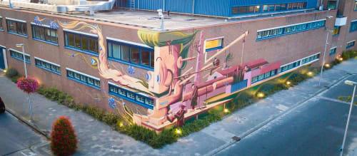 Munir de vries - Murals and Street Murals