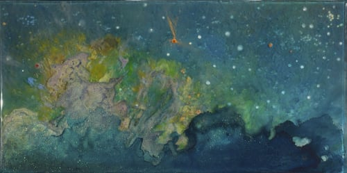 """Paintings by Jessica Dunegan seen at Design Collective & JLV Creative, Mount Pleasant - """"Sacred Contract"""""""