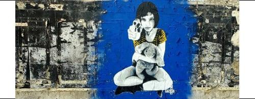 Polarbear - Stencils - Street Murals and Murals