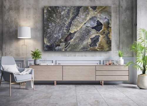 Photography by Oyster Art seen at Private Residence - Disruption ~ Photomcrographic Abstract Arta