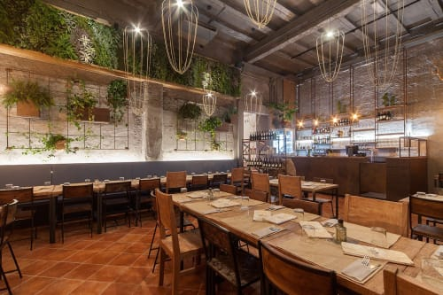 Lighting Design by Ryosuke Fukusada seen at In The Courtyard Center Gourmet Pizza, Rimini - il cortile in centro