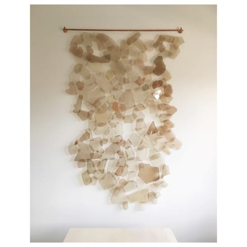 Wall Hangings by Christina Watka at Private Residence, Upper East Side, NYC, New York - Tapestry of Light