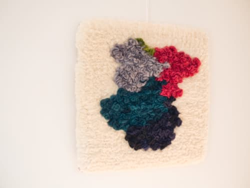 Wall Hangings by Yunan Ma Fiber Art seen at Private Residence, San Francisco - The Show 8, 2020