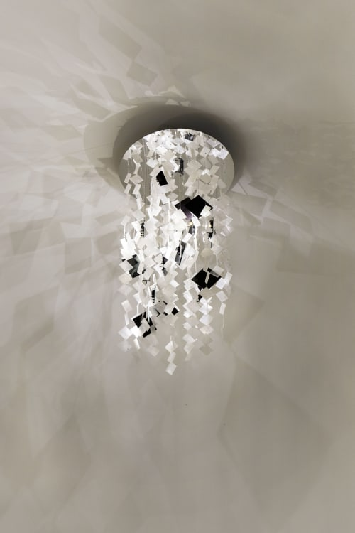 Chandeliers by nea studio | Nina Edwards Anker seen at Private Residence - New York City, NY, New York - Solar Chandelier