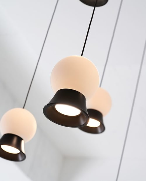 Pendants by SEED Design USA seen at 858 Lind Ave SW, Renton - FUJI Pendant 12