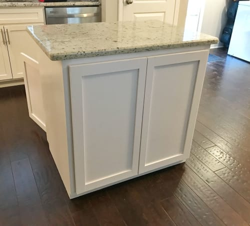 Furniture by Walker & Wood seen at Private Residence, Nashville - Kitchen Island