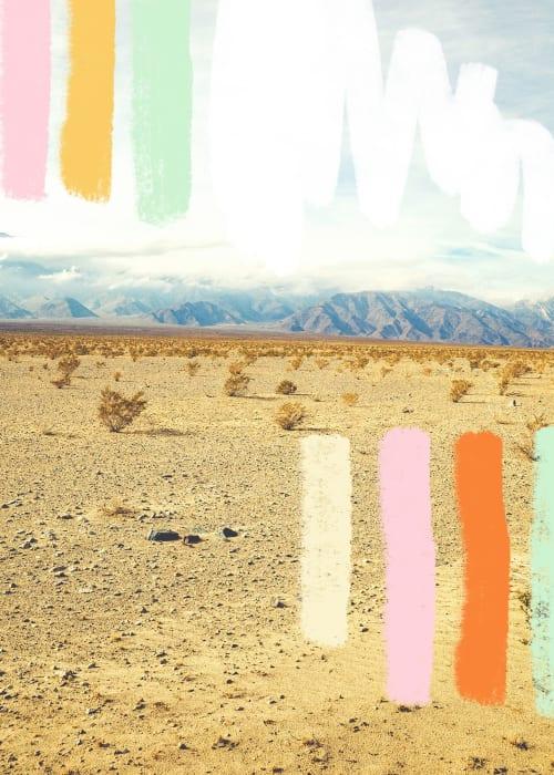 Photography by Kara Suhey Print Shop seen at Creator's Studio, Santa Barbara - The Dance of the Colorful Woman