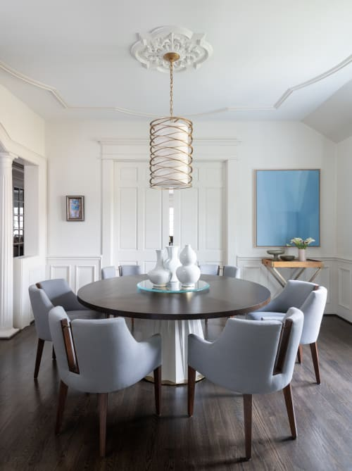 Interior Design by Bankston May Associates seen at Private Residence, Houston - Houston Heights