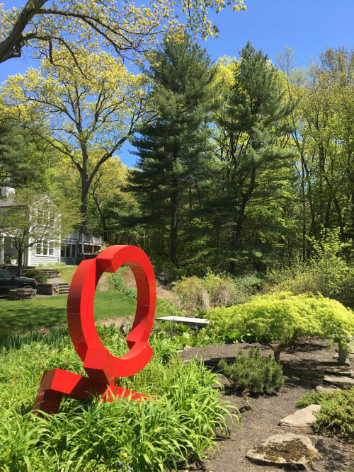 Public Sculptures by Rob Lorenson seen at Private Residence, Dover - Dover Rover