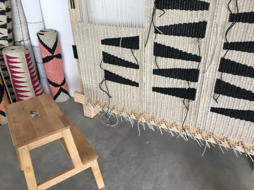 Rugs by TANU handwoven textiles at Private Residence, Denver CO, Denver - /\