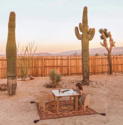 Chairs by Wit Design seen at Private Residence, Joshua Tree, CA, Joshua Tree - Wit Set
