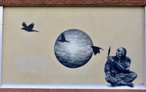 Street Murals by Leigh Ann Culver seen at Downtown Augusta, Augusta - Mural