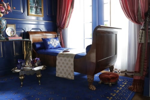 Beds & Accessories by Jonathan Rachman Design seen at SF Decorator Showcase 2019, San Francisco - French Beds
