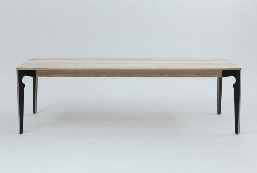 Tables by Takk Furniture seen at Workshop17 Firestation, Johannesburg - Takk Table