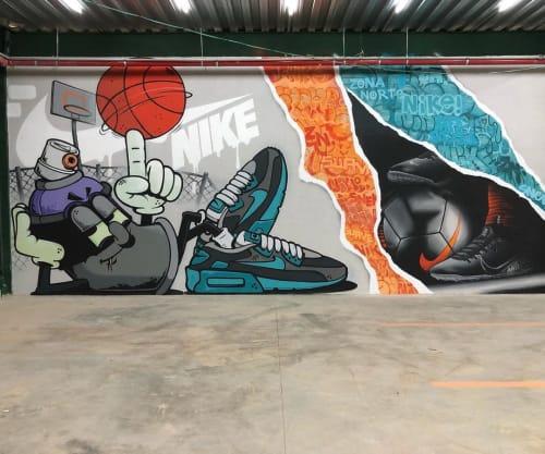 snek arte - Street Murals and Murals