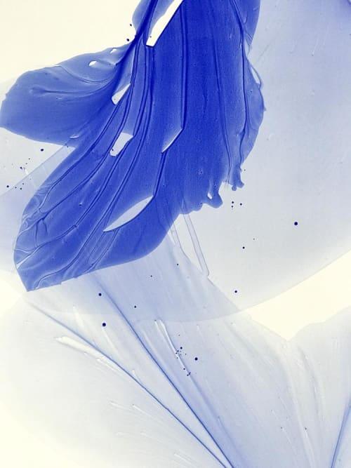 Paintings by Marta Spendowska seen at Marta Spendowska LLC, Portsmouth - Our Blue Windows to Flying 51x42