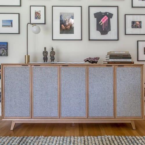Furniture by VOLK Furniture seen at Hacin + Associates, Boston - Tweed Credenza