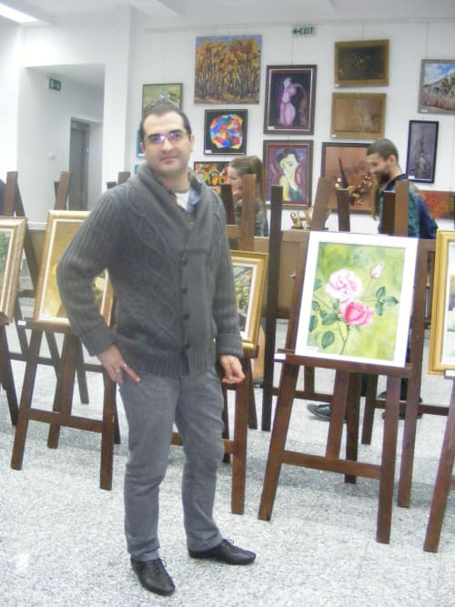 Paintings by Ostin Art seen at Private Residence, Cluj-Napoca - At exhibition