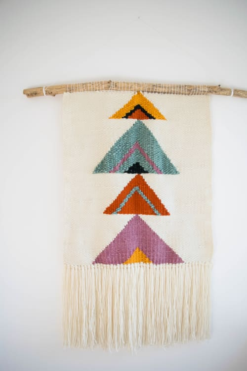 Wall Hangings by The Northern Craft seen at Private Residence, Al Rideem - Pour Choice Weaving