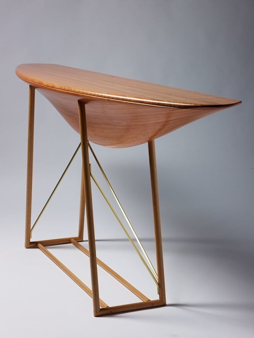 Tables by Nick Randall seen at Private Residence, Brisbane - Arcus Hall Table
