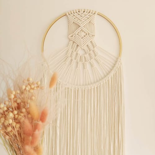 Macrame Wall Hanging by Sploty_makrama seen at Private Residence, Miastko - Dream catcher