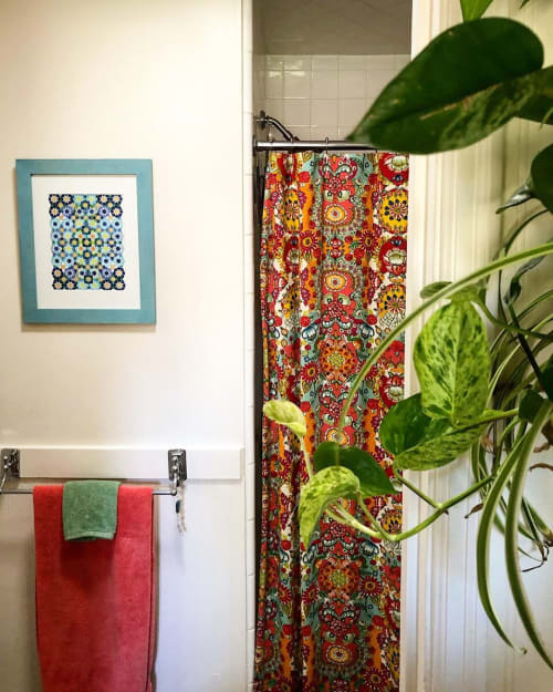 Wall Hangings by Zahra Ammar seen at Private Residence, Sacramento - Geometric Art