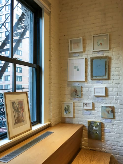 Paintings by Catherine Lucky Chang seen at New York, New York - Sunday in Siena - Framed Relief Print