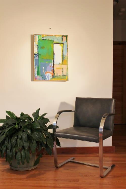 Paintings by Joey Korom seen at Private Residence, New York - The Challenge