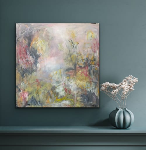Paintings by Kelly Dillard Art seen at Creator's Studio - Silent Enemy