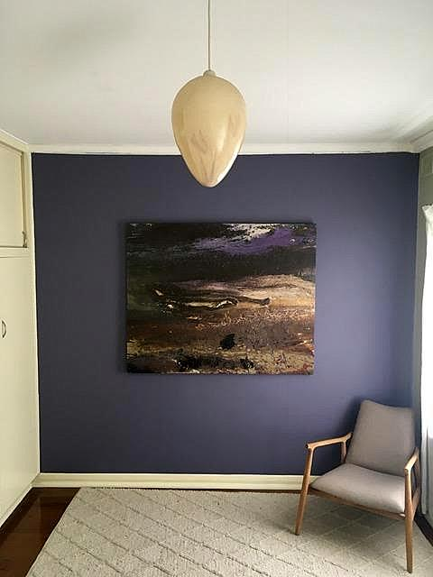 Paintings by William Holt seen at Private Residence, Adelaide - Desert Soul