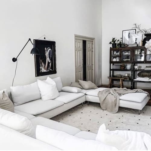 Rugs by Oh Happy Home seen at Private Residence, Sydney - Cotton Berber Dotty Rug
