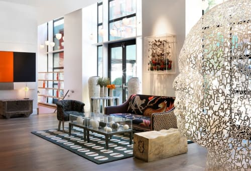 Art & Wall Decor by Jack Milroy seen at Crosby Street Hotel, New York - Mix Media 3D Art