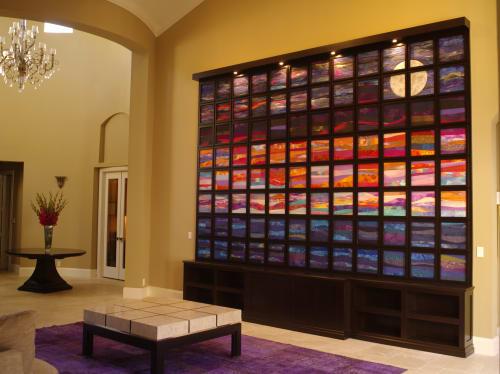 Art & Wall Decor by Adrienne Yorinks seen at Private Residence, Palm Beach Gardens, Florida, Palm Beach Gardens - Ocean Sunset