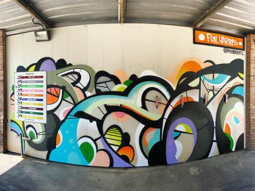 Street Murals by Phil Harris at Westview, Atlanta - Westside Mural