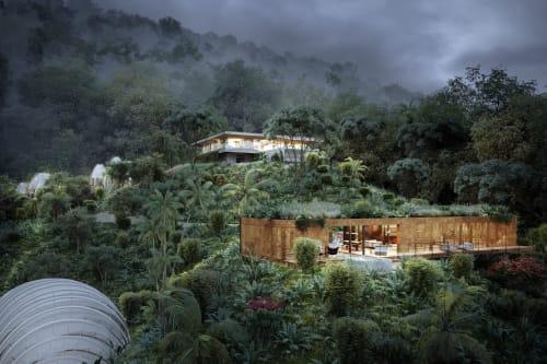 Architecture by formafatal seen at Bahía Ballena - ART villa - Costa Rica