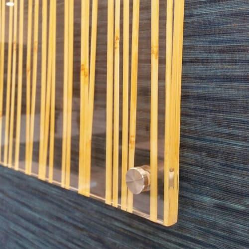 Art & Wall Decor by Organik Creative at Lockton Dunning Benefits, Dallas - Mixed Media Art