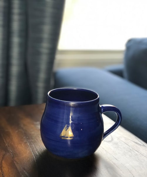 Cups by HazelCeramics seen at Private Residence, Lodi - Mug