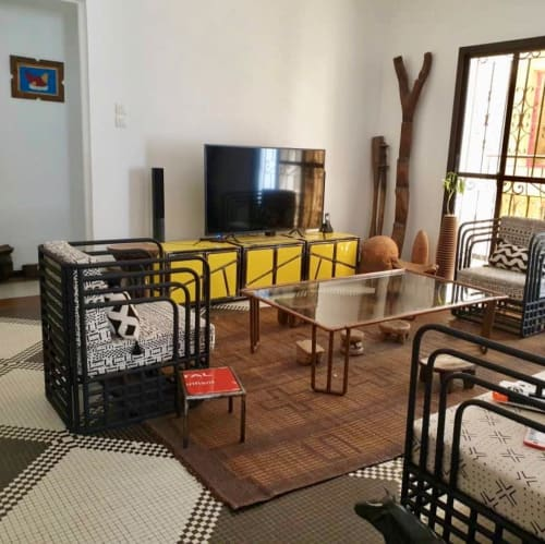 Chairs by Ousmane Mbaye DESIGN seen at Private Residence, Dakar - Lounge Chairs