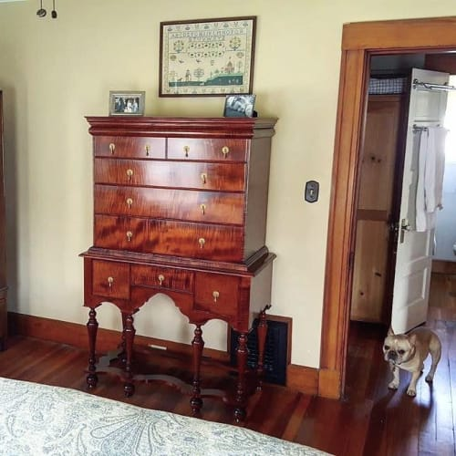 Furniture by Copper Pig Woodworking seen at Private Residence, Boston - Jasper High Chest