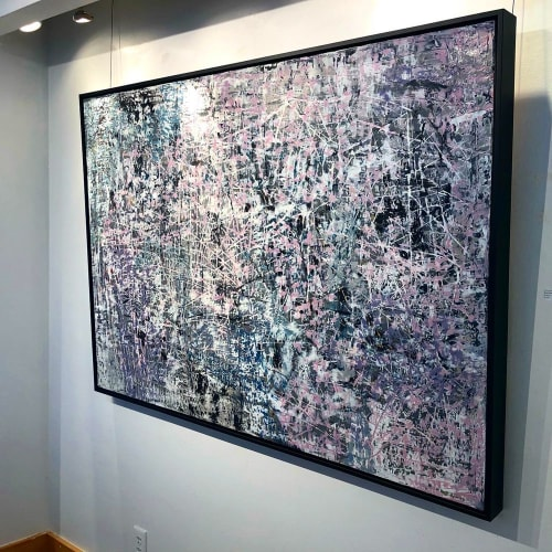 """Paintings by Anastessia Bettas seen at Petroff Gallery, Toronto - """"New Frontiers"""""""