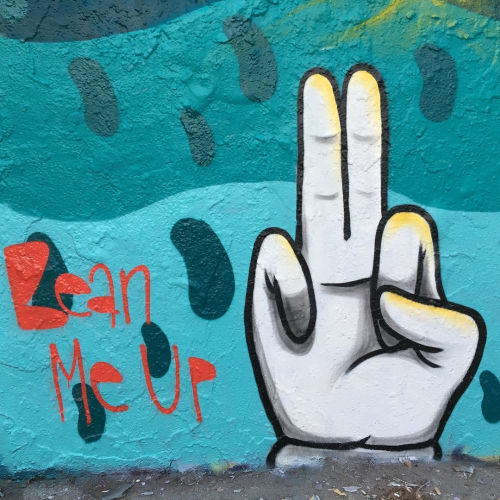 """Murals by BS Just More (Bulky Savage) seen at Mauer park, Berlin - """"Bean Me Up"""" Mural"""