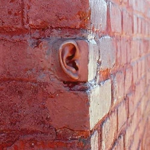 Public Sculptures by Michael Beitz seen at Brooklyn, Brooklyn - Ear Brick