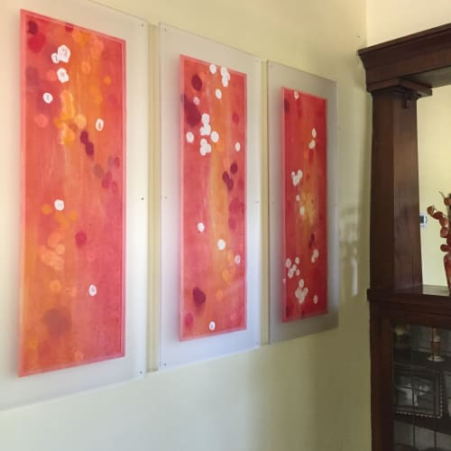 Paintings by Jane Guthridge seen at Private Residence, Denver - Blossoms