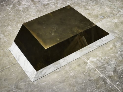 Tables by BRANT RITTER seen at Private Residence, Los Angeles - LOW COFFEE TABLE