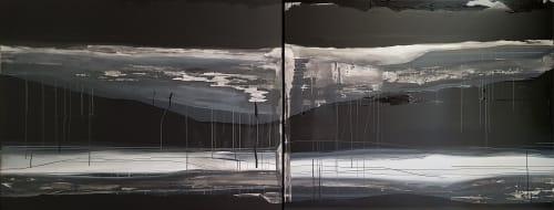 Paintings by Emilie Heurtevent seen at Aptos Cruz Galleries, Stirling - Landscape #1