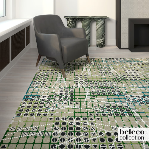 Rugs by Beleco seen at Los Angeles, Los Angeles - Beleco Carpets