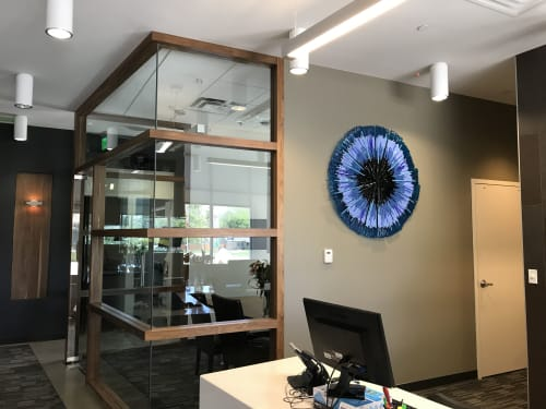 Wall Hangings by Natalie Ventimiglia seen at Corson Dentistry, Denver - Evil Eye