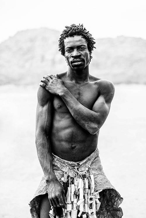 Photography by Kara Rosenlund seen at Walter & Co, Richmond - Namibia Village Man